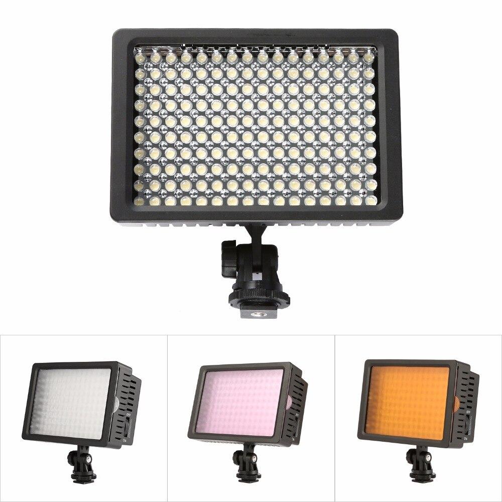 Ulanzi 96 LED Phone Video Light Photo Lighting on Camera Hot Shoe ...