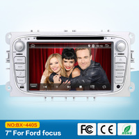 7 Inch 2 DIN Car DVD Audio For Ford Focus Mondeo S Max Kuga GPS Navigation
