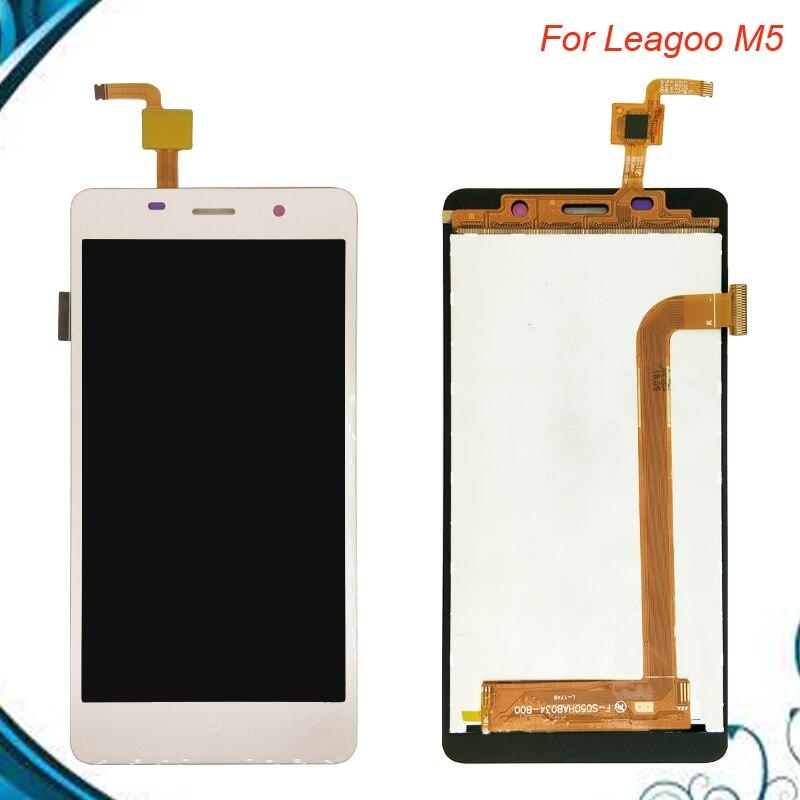 100% Testé OK Pour Leagoo M5 LCD Display + Écran Tactile digitizer Assemblée Remplacement du capteur pour Leagoo M 5