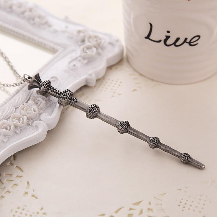 Free Shipping 4pcs/lot Movie Six Phalanx Magic Wand Pendant Necklace movie necklace wholesale