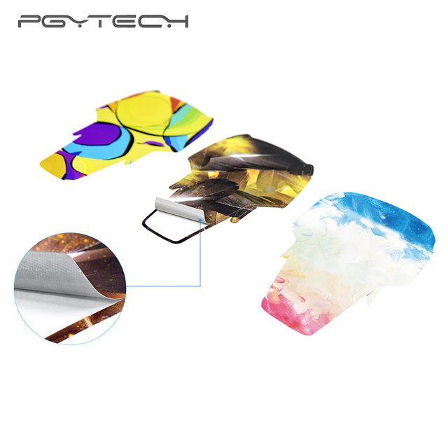 PGYTECH NEW Stickers For DJI Mavic Air Body Decals Remote Control Protective Film Skin for DJI Mavic Air Accessories