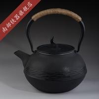 Cast Iron Tea Pot Set Japanese Teapot Tetsubin Kettle 1300ml Stainless Steel Strainer Infusers Drinkware Tools Hot Sale Genuine