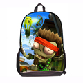 Fashion Game Plants Vs Zombies School Bags Student Book Backpacks PvZ Casual Cartoon Design Book Bags Back Pack for boys kids