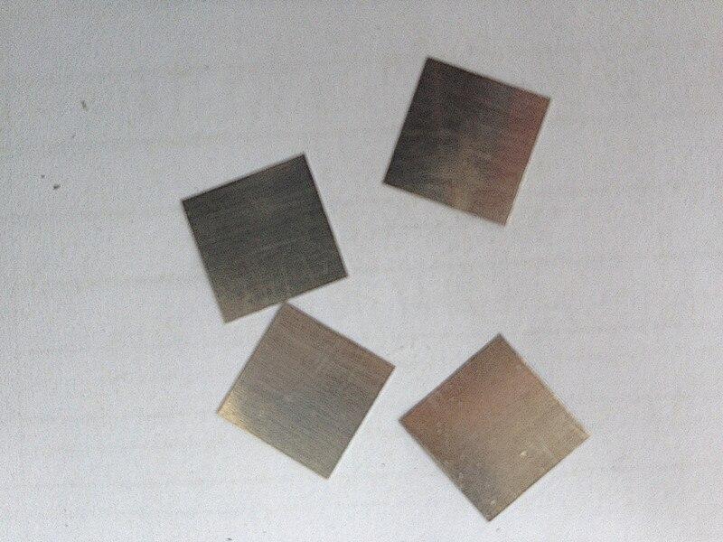The supply of 20*20*0.1 pure platinum sheet platinum