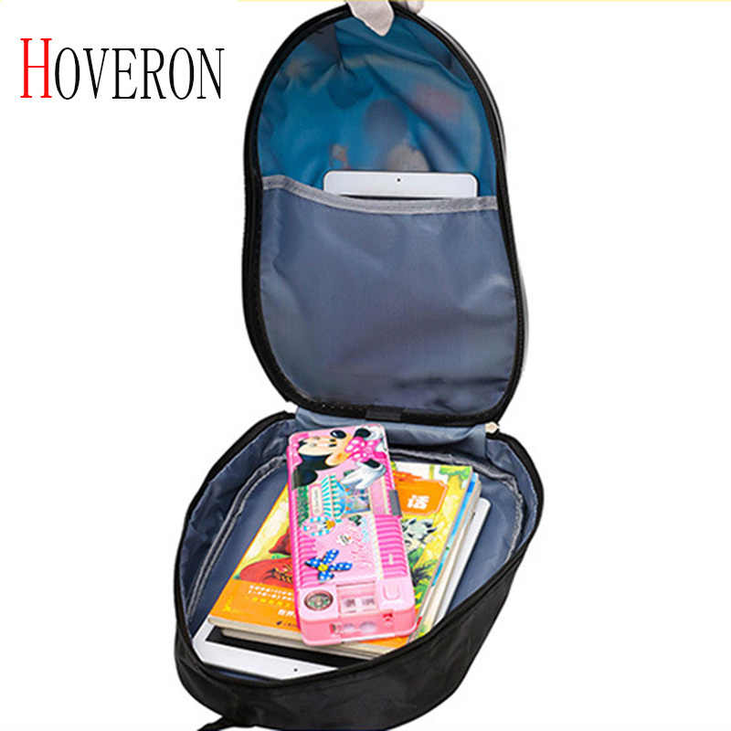 Children travel trolley case with wheel trolley backpack girl cartoon suitcase rolling toy box kids travel bag school luggage