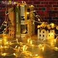 9 Colors 10M 100 LED String Lighjt Fairy LED Outdoor Light Garden Lamp Wedding Party Christmas Decor Waterproof EU/US Plug