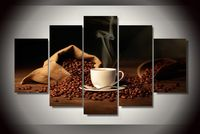 HD Printed bag coffee beans shoulder cup Painting children's room decor print poster picture canvas Free shipping/ny-2000