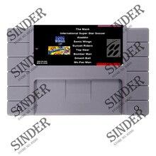 Super 9 en 1 con sonic wings/aladdin/top gear de grises de 16 bits tarjeta de juego para ee. uu. ntsc jugador del juego