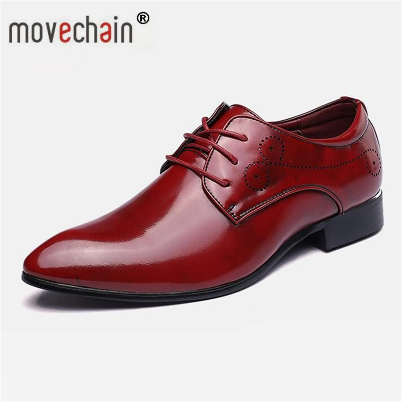 Movechain Men's Galaxy Wedding Dance Party Brogue Shoes