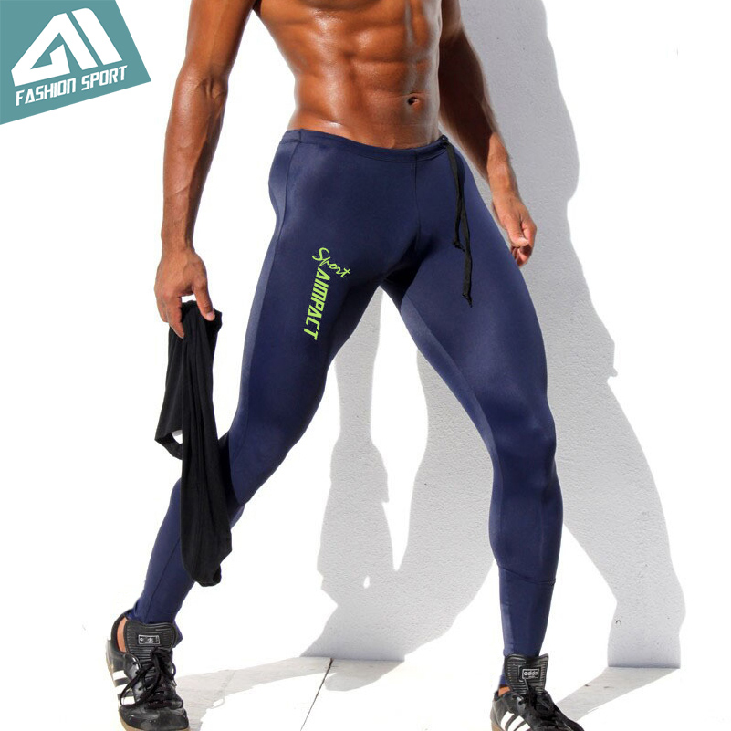 Aimpact Skinny Men's Sport Pants Athletic Slim Fitted Running Men's Pants Sexy Gym Tight Sweatpants Crossfit Workout Pants AM18 slack skinny tight fit work pants