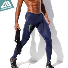 Aimpact Skinny Men's Sport Pants Athletic Slim Fitted Running Men's Pants Sexy Gym Tight Sweatpants Crossfit Workout Pants AM18