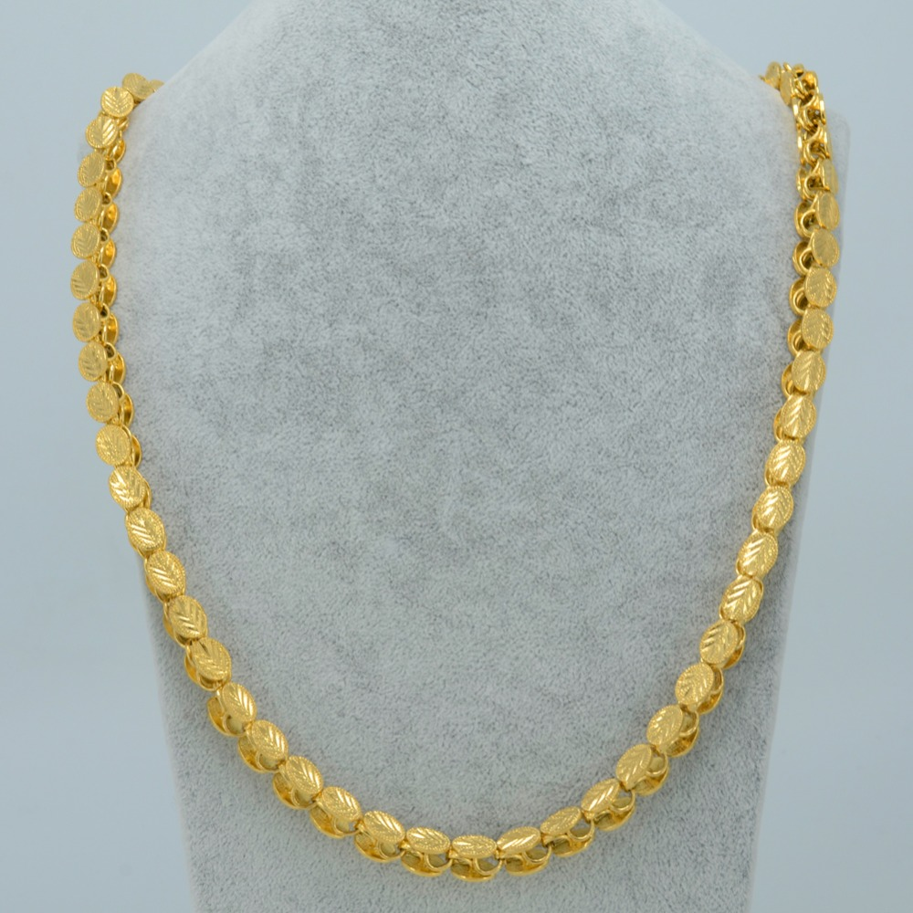 Image 5 - Anniyo Length 53CM/83CM/200CM Width 9MM, Ethiopian Thick Necklaces Women Gold Color Africa Eritrea Men Chain Dubai Arab #046506-in Pendant Necklaces from Jewelry & Accessories