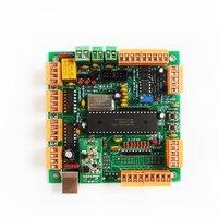 4 Axis USB CNC Machine Controller Interface Board CNCUSB MK1 USBCNC 2.1 Substitute MACH3