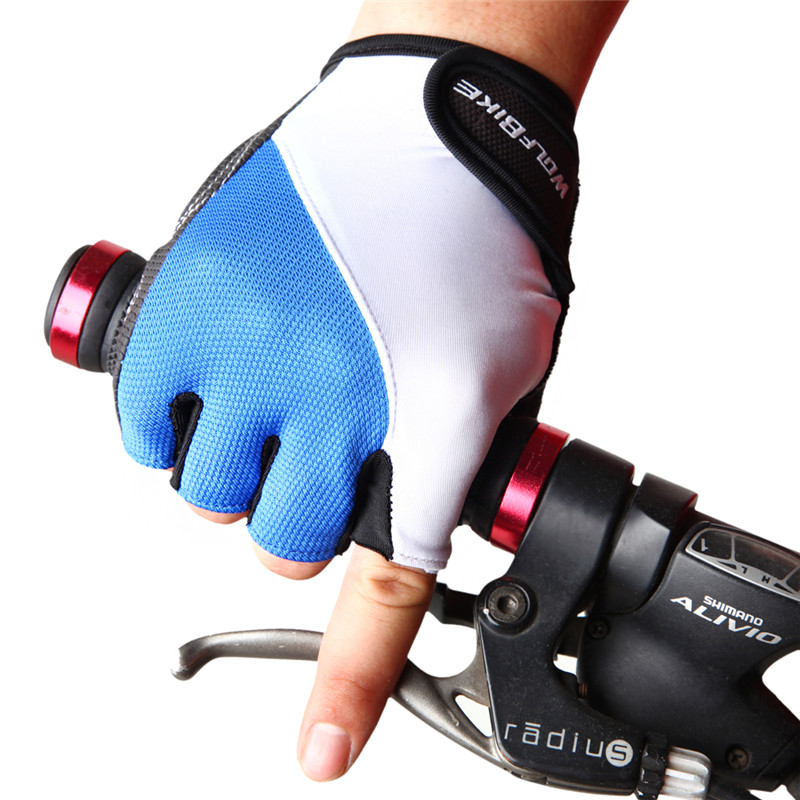 WOSAWE Cycling font b Gloves b font Mens Women s Summer Sports Wear Bike Bicycle Riding