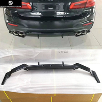 G30 3D style Carbon Fiber FRP rear bumper diffuser for BMW G30 5 series 530i 540i 2018