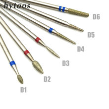 Hytoos 11 tipo diamante broca do prego bit 3/32