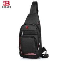 BALANG Casual Multipurpose Famous Brand Crossbody Bag Large Capacity Chest Pack Travel Nylon Zipper Bags Unisex