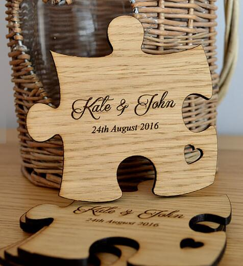 Segnaposto Matrimonio Legno.Personalizzato Di Legno Rustico Tabella Coaster Favori Di Nozze