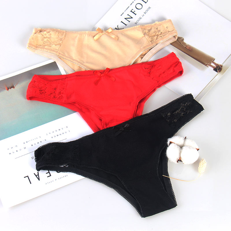 40ceed55609d € 1.28 25% de DESCUENTO|CMENIN ropa interior bragas de las mujeres plus  tamaño ropa interior femenina Tanga de encaje tangas bikini mujer erótico  ...