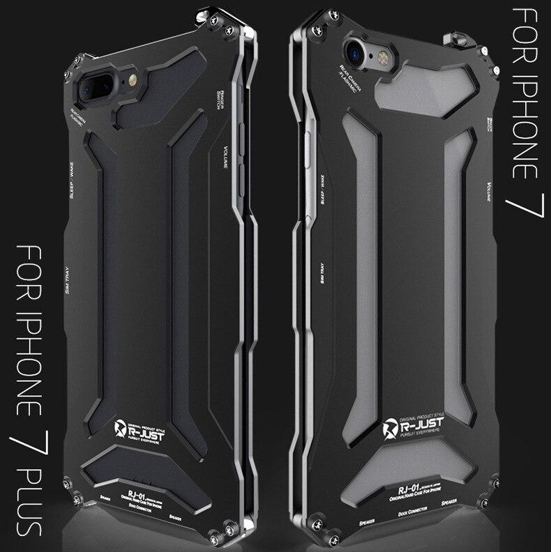 """imágenes para Original de I-JUST GUNDAM Metal Caso para Apple iPhone 7 Cubierta De Anodizado De Aluminio de Lujo para el iphone 7 Plus 4.7 """"5.5"""""""