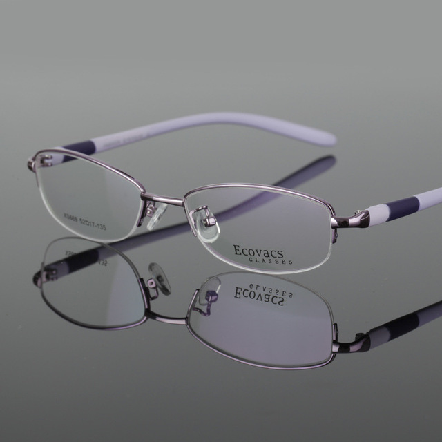 22449bb22c2 Business Affairs Ma am Myopia Glasses Student Myopia Picture Frame Half  Frame Business Affairs Hyperopia