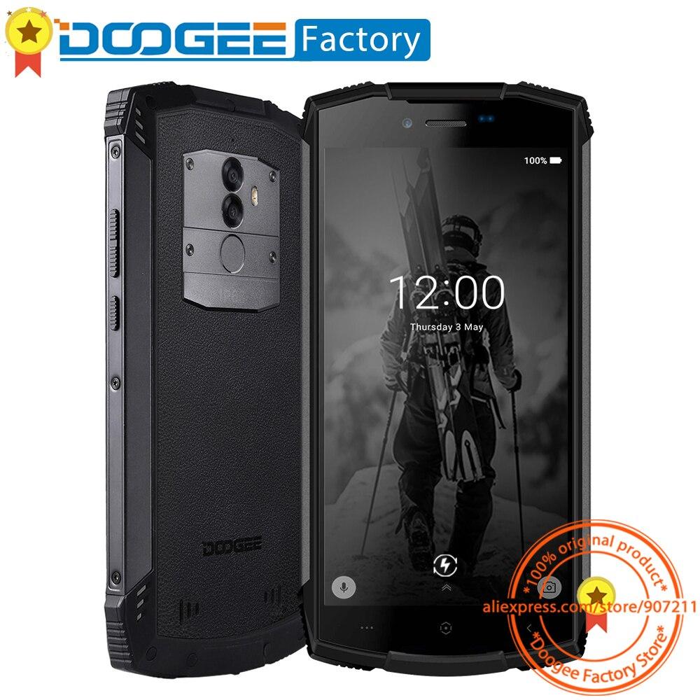 """DOOGEE S55 IP68 5500 мАч Touch ID смартфон 5,5 """"HD + 18:9 Экран 13.0MP + 8.0MP сзади Cam 4 + 64 ГБ Android 8,0 Octa Core сотовый телефон"""