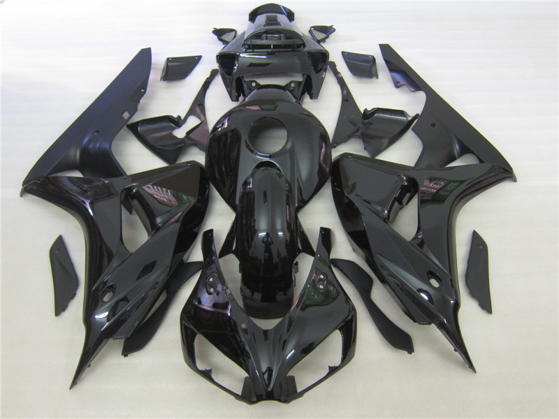 Injection mold fairing kit for Honda CBR1000RR 2006 2007 black fairings set CBR 1000RR 06 07