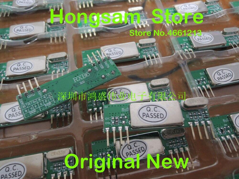 50PCS 100PCS RXB6 Superheterodyne Wireless Receiver Module 315Mhz 433Mhz