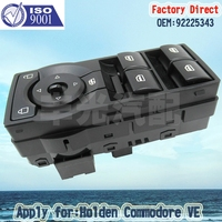 Factory Direct Auto Electric Power Window Switch apply For Holden Commodore VE 06 13 LHD 92225343