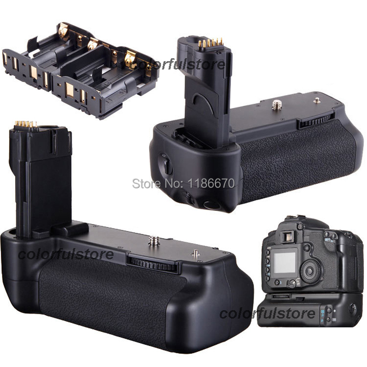 US $45 0 |Battery Hand Grip Pack 2 Step Vertical Shutter For Canon EOS 50D  40D 30D 20D Digital SLR Camera replace BG E2N fit BP 511A 511-in Battery