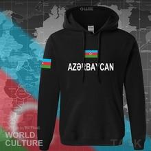 Azerbaijan Azerbaijani felpa con cappuccio da uomo felpa felpa nuovo hip hop streetwear abbigliamento sportivo tuta nazione 2017 paese AZE