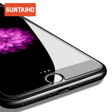 Suntaiho Tempered Glass  2.5D 9H Ultra-thin For iPhone Xs Max XR 8 7 6 6s Plus 6 6s 5 5s  Premium Screen Protector galss