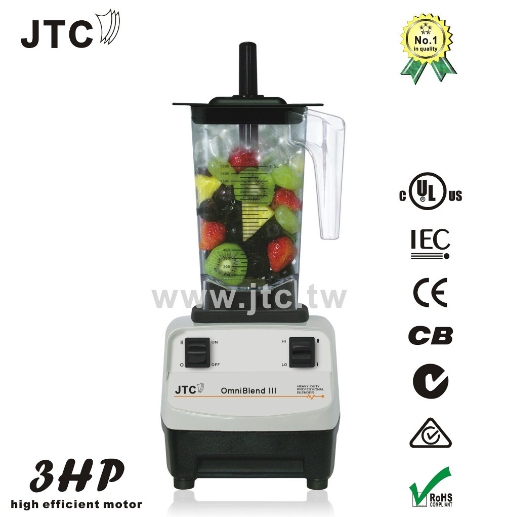 FREE SHIPPING JTC Super blender with PC jar, Model:TM-788A, Grey, 100% GUARANTEED NO. 1 QUALITY IN THE WORLD. the tear jar