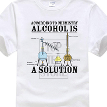 """Alcohol Is A Solution"" men's t-shirt"
