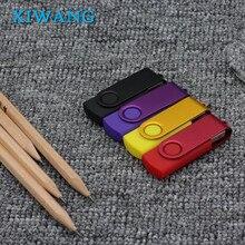 USB Flash Drive 64GB flash memoria 8GB 4GB usb stick 2.0 128GB waterproof pen drive 32GB Rotation pendrive 16GB free custom logo цена и фото