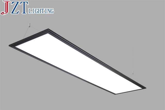 T nouveau led noir simple lumières douces w rectangulaire