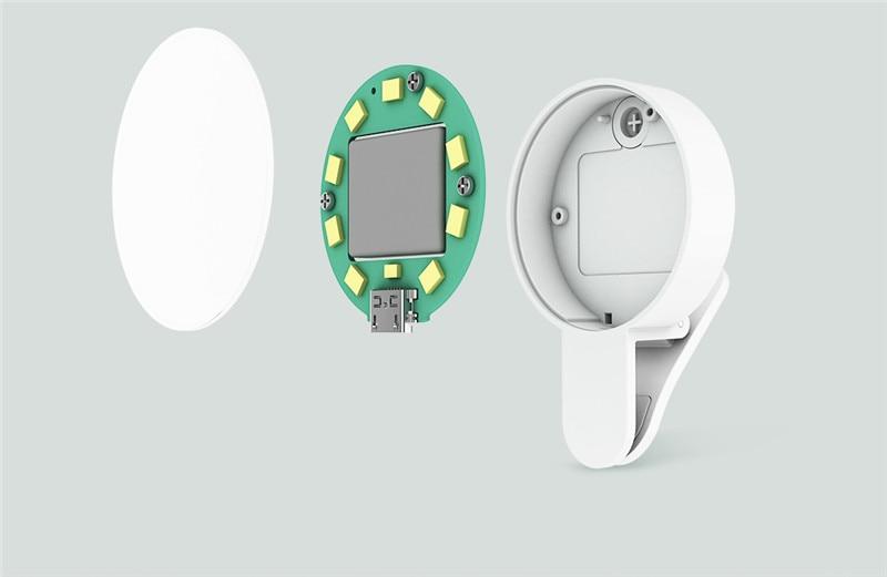 Original Xiaomi Mijia Yuemi Fill Led Light ( Mobile Phone Selfies ) For Xiaomi Smart Home Three Dimming  Minimalist Design (5)