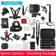 Ruigpro for gopro sports camera novice set diving riding mountaineering self-timer shooting accessories