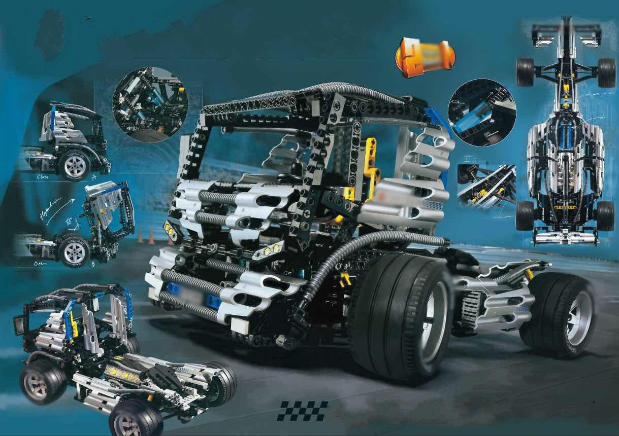 цена  building bricks Clone 8458 Technic Series The Silver Champion Racing Set Educational Building Blocks Model Toys Gift 21001 05033  онлайн в 2017 году