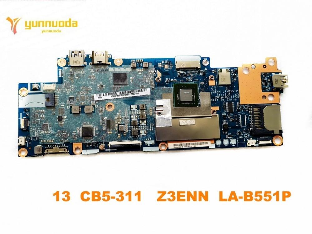 original for ACER 13 CB5-311  laptop motherboard 13  CB5-311   Z3ENN  LA-B551P  tested good free shipping