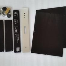 Полный алюминиевый корпус/Шасси/Чехол/коробка подходит ES9038PRO DAC 430 мм* 70 мм* 308 мм