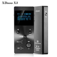 Gorący XDUOO X3 Profesjonalne Bezstratnej Muzyki MP3 HIFI Odtwarzacz Muzyczny z OLED Ekran HD Darmowe Z X3 Skórzany Pokrowiec Darmo wysyłka