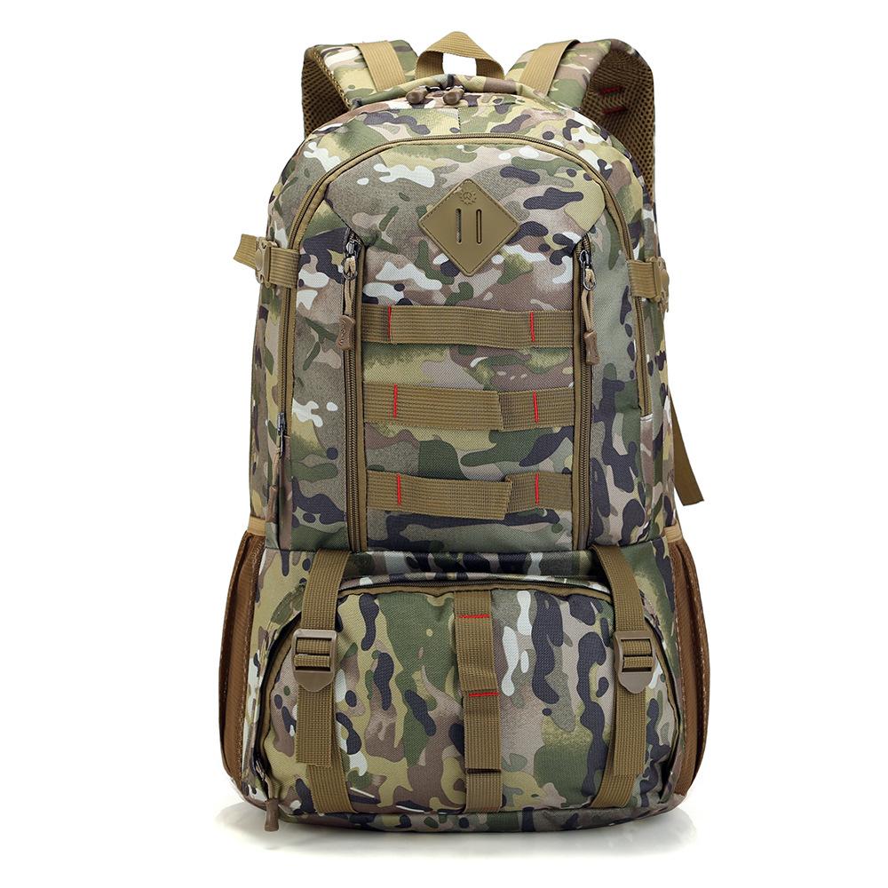 Prix pour 2017 hot new mâle militaire sacs à dos sac de haute qualité imperméable à l'eau 50 L sac à dos multi-fonction super grande capacité voyage sacs