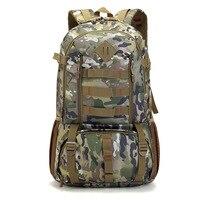 2017 Hot New Male Military Backpacks Bag High Grade Waterproof 50 L Backpack Multi Function Super