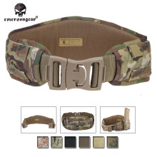 Emerson Molle Waist Belt Hunting Padded Emersongear Men Airsoft Combat Waistband MOLLE Tactical EM9086 Multicam 1000D nylon(China)