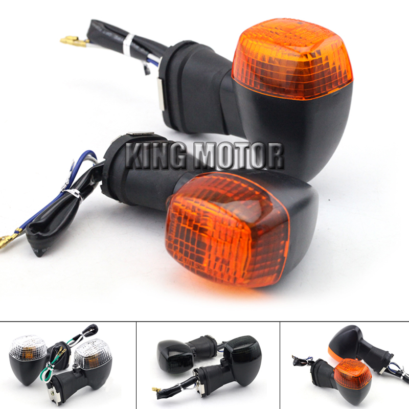 For KAWASAKI ZRX400 ZRX1100 ZRX1200 R/S ZXR250 ZXR400 ZXR750 ZZR600 Motorcycle Front Turn Signal Indicator Light Blinker Lamp zrx400 zxr400 zxr250 kle400 kle250 сандерс спереди и сзади поверните сигнал поворота