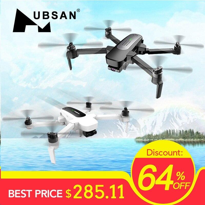 Em Estoque Hubsan H117S Zino GPS 5.8G 1KM Dobrável Braço Câmera FPV com 4K UHD 3- eixo Cardan RC Drone Quadcopter ORKUT FPV