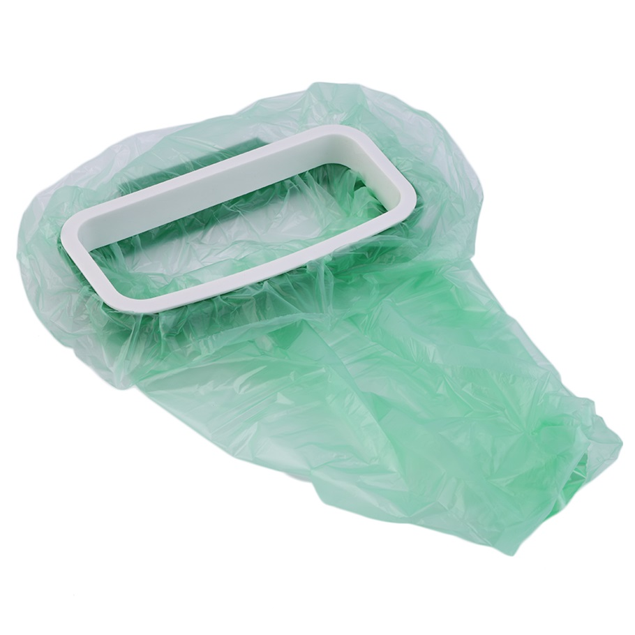 Лидер продаж висит Кухня шкаф задняя дверь стенд мусорный мешок для мусора хранения стойку Новый ...