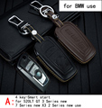 Genuine Leather CAR KEY CASE For BMW 520LT  GT  3 SERIES NEW  7 SERIES NEW X3 Use Automobile Special-purpose CAR KEY HOLDER