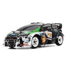 Wltoys K989 1:28 RC samochodów 2.4G 4WD szczotkowany silnik 30 KM/H wysokiej prędkości RTR RC samochód do driftu ze stopu zdalnie sterowanym samochodowym Voiture Telecommande